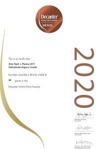 Certificate_WINE114725_CRO_DWWA2020